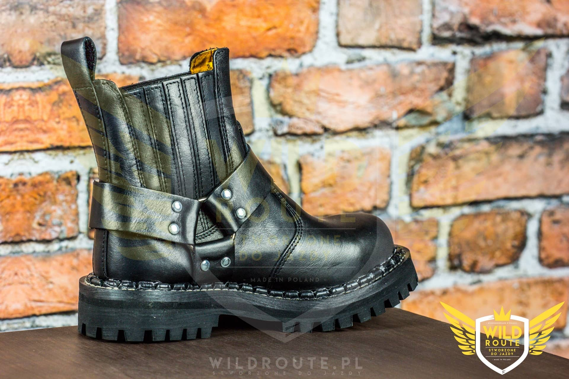 "Buty na choppera WILDROUTE ""V2"""