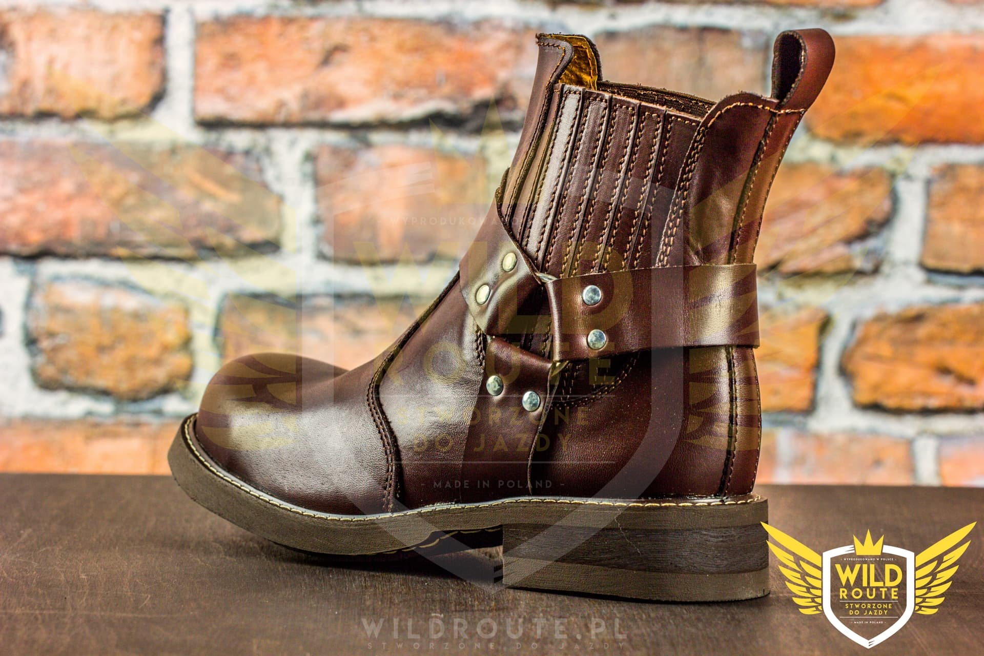 "Buty na choppera WILDROUTE ""V4"""
